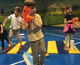 8 group games using scoops in pe keeping kids in motion