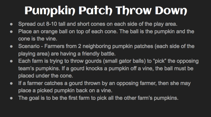 Pumpkin Rules