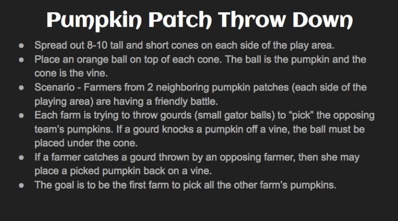 Pumpkin Rules