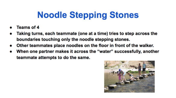 Noodle Stepping Stones